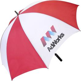 Keeping the County's golfers dry with a Shropshire Printing Umbrella