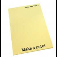 Make a note with promotional post it notes in News