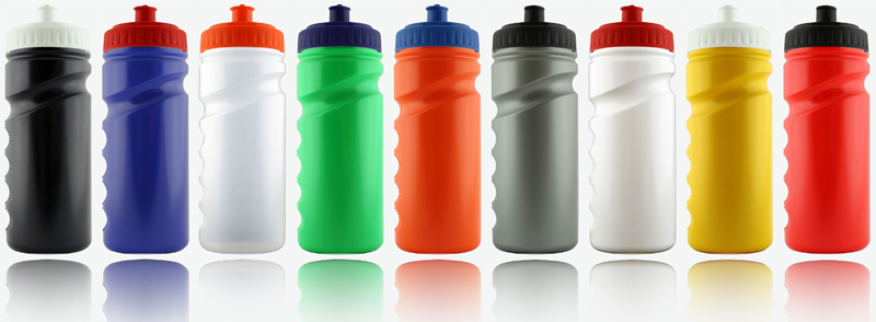 Plastic Sports Bottles - a perfect promotional product for the summer!